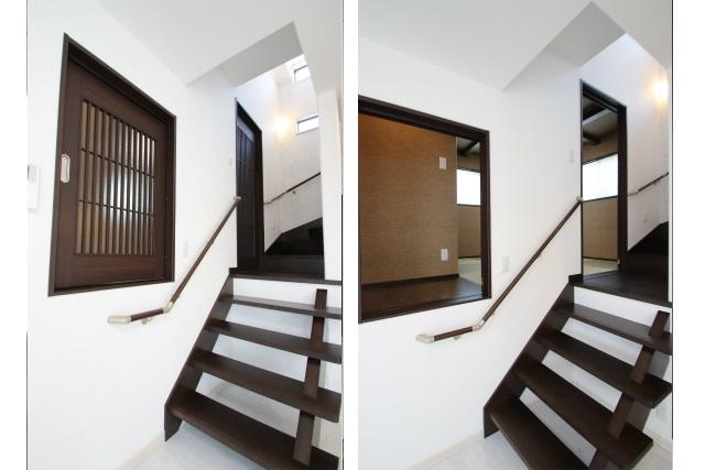 タテ2枚 階段&飾り床