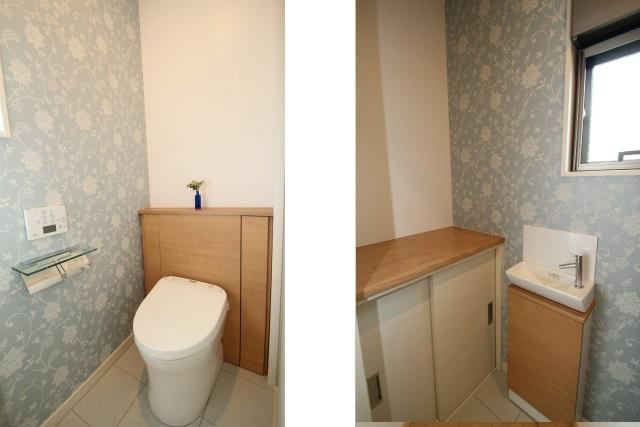 タテ2枚 1階トイレ