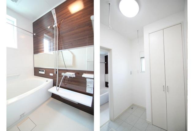 タテ2枚 浴室&脱衣室
