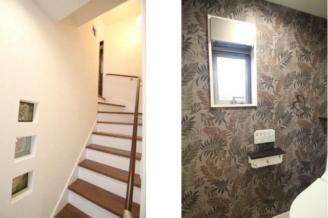 Bタテ2枚 階段&2Fトイレ