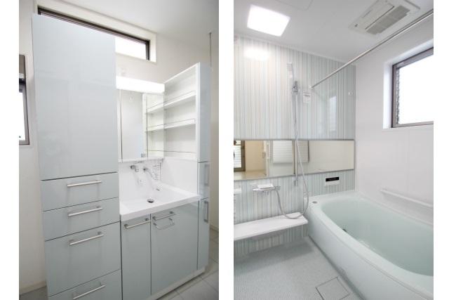 タテ2枚 浴室&洗面ユニット