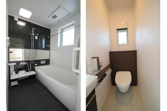 タテ2枚 1F浴室&トイレ