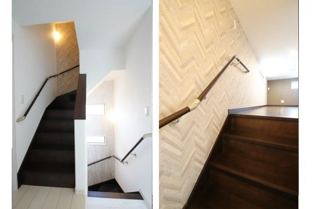 タテ2枚 ロフトへの階段