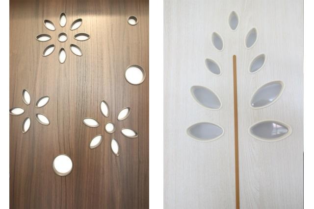 タテ2枚 ドアデザイン