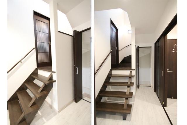 タテ2枚 階段&US入口