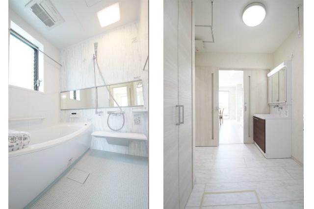 タテ2枚 バスルーム