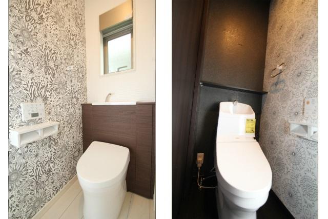 タテ2枚 1&2階トイレ