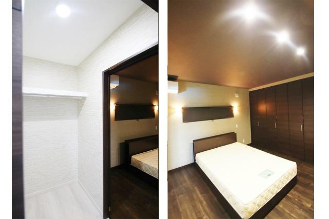 タテ2枚 WIC&主寝室