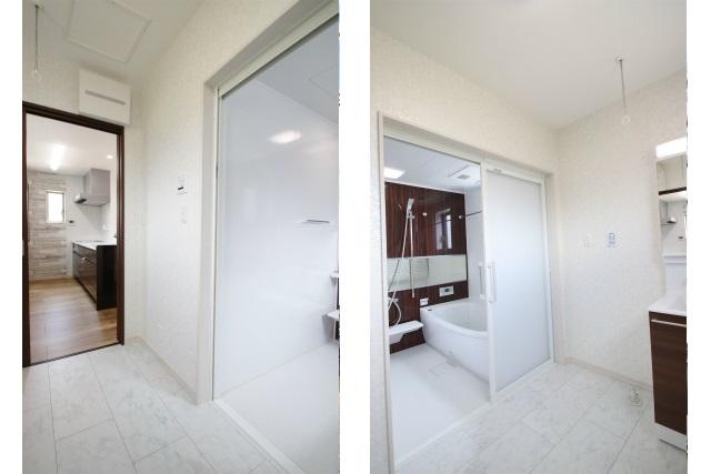 タテ2枚 2F洗面浴室