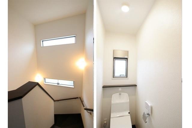 タテ2枚 階段室&2Fトイレ