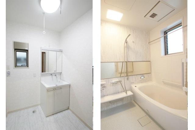 タテ2枚 洗面&浴室
