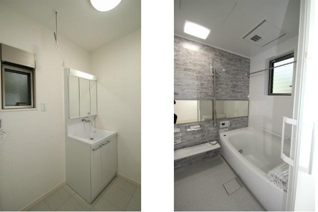 タテ2枚 洗面所&バスルーム