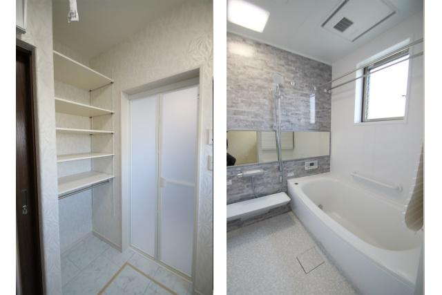 タテ2枚 浴室
