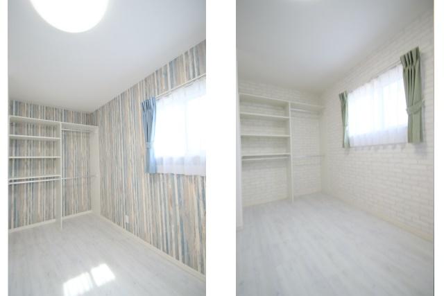 タテ2枚 子供部屋×2室