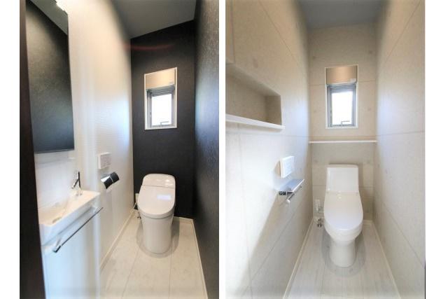 タテ2枚 トイレ1F2F