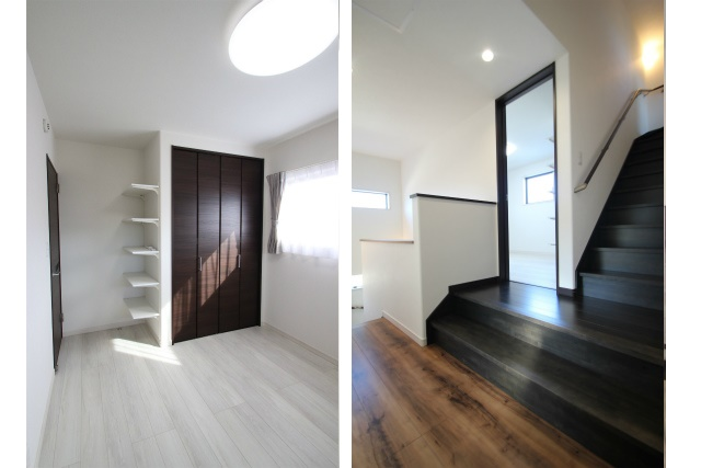 タテ2枚 子供部屋&ロフト階段