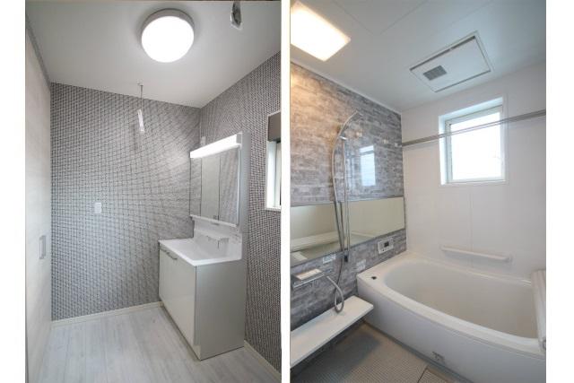 タテ2枚 &2F洗面&バスルーム