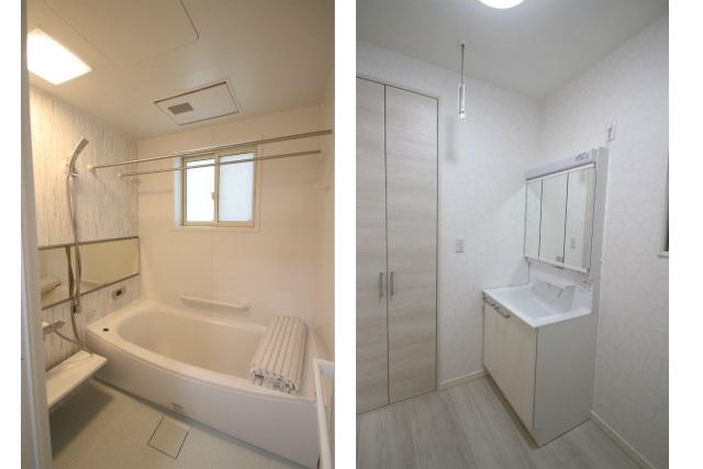 タテ2枚 1F洗面所&バスルーム