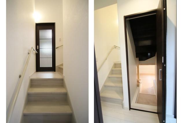 タテ2枚 階段US入り口
