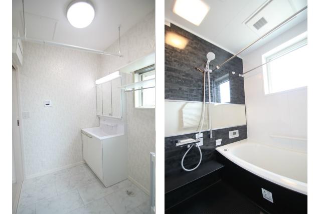 タテ2枚 洗面所 浴室