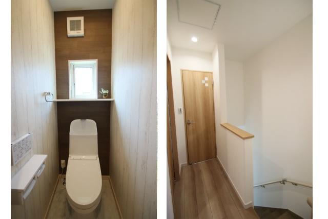 タテ2枚 2F廊下&トイレ