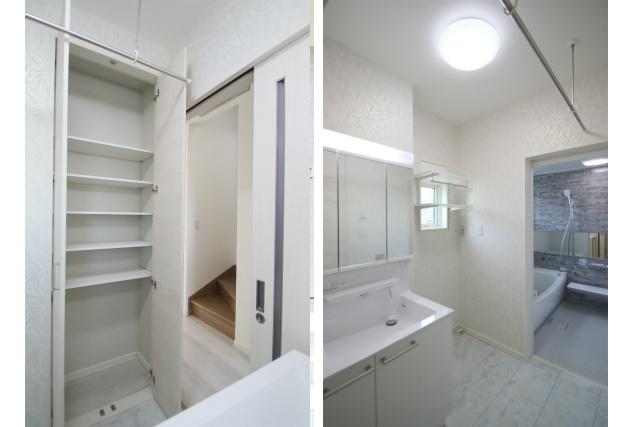 タテ2枚 洗面室