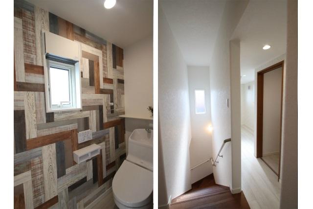 タテ2枚 2Fホール&2Fトイレ