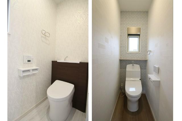 タテ2枚 トイレ1F&2F