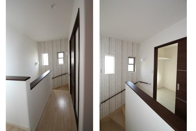 15タテ2枚 2階の階段