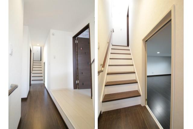 タテ2枚 階段