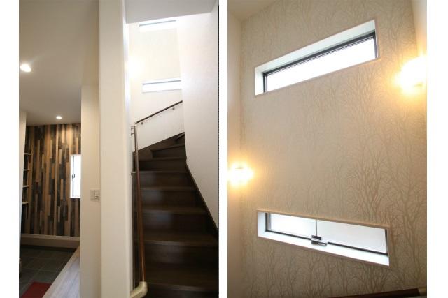 タテ2枚 階段室